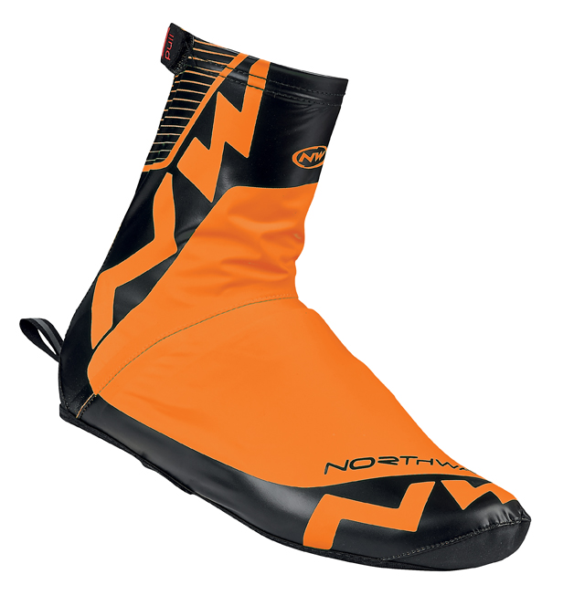 Copriscarpe Ciclismo Northwave Acqua Summer Shoe Cover ORANGE FLUO