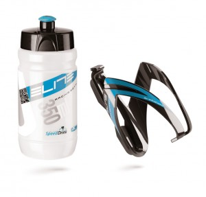 Borr+portaborr. Elite Vero Thermal Ceo - 350ml, chiaro+blu nero/blu
