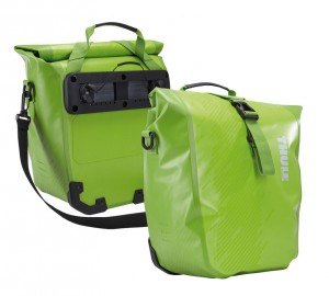 Borse Thule Shield Pannier (al paio) - chatreuse, Small 25,40x13,97x31,12cm
