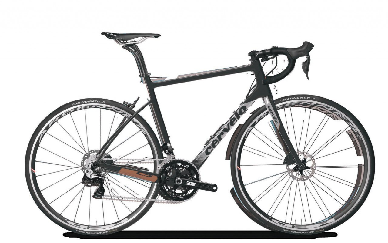 Cervlo C5 DA Di2 Disc BLACK/GREY