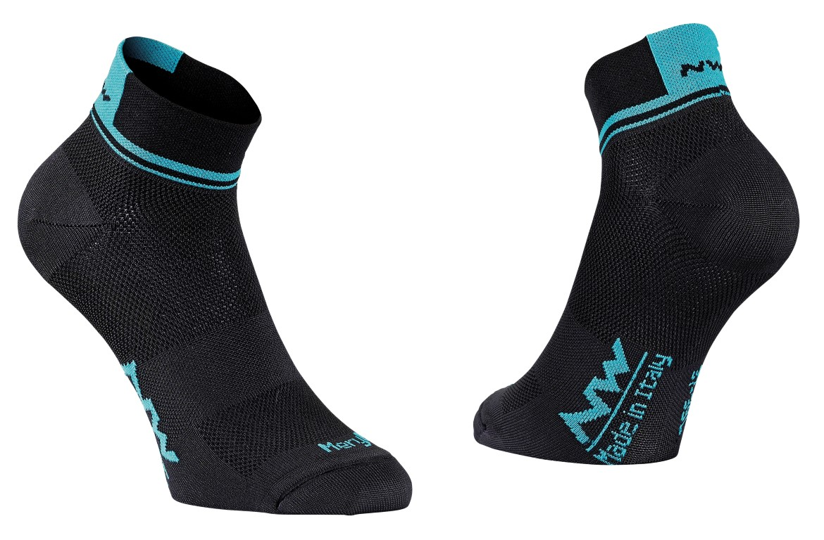 Calze Ciclismo Northwave Logo 2 Woman Socks BLACK-CERAMIC