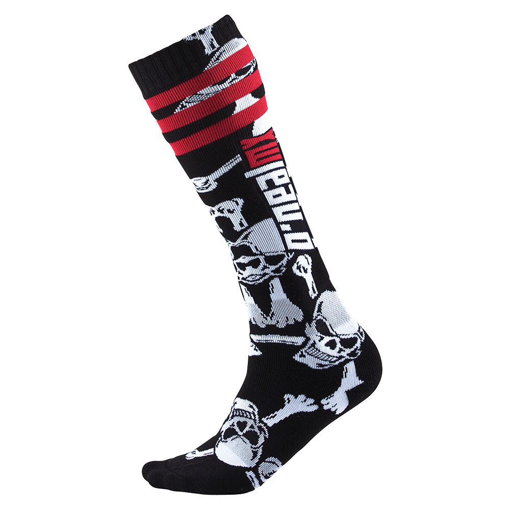 Calze O`Neal PRO MX SOCK Crossbones UNICA BLACK/WHITE