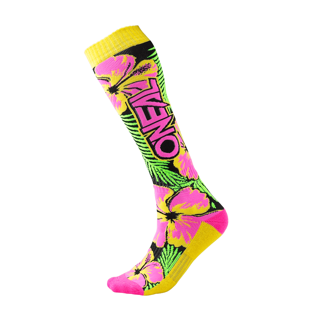 Calze O`Neal PRO MX SOCK Island UNICA PINK/GREEN/YELLOW