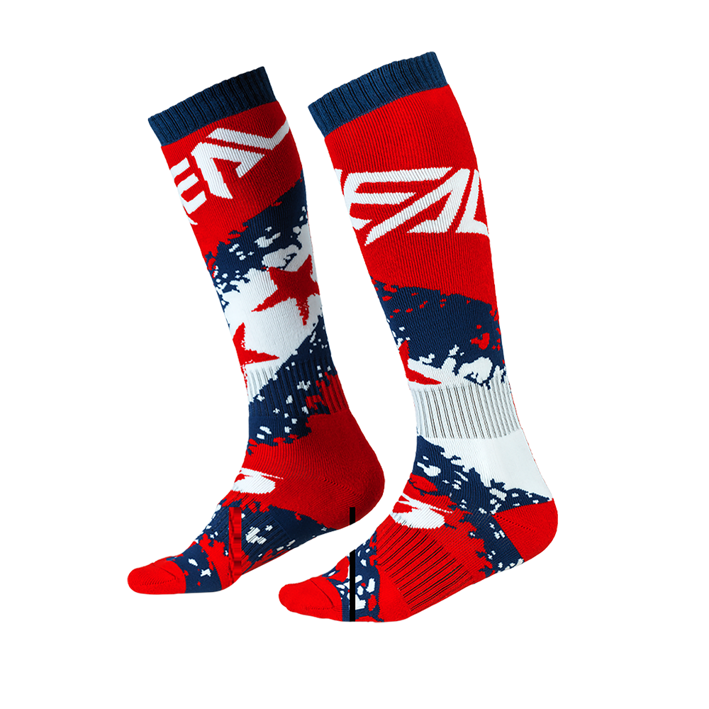 Calze O`Neal PRO MX SOCK Stars UNICA RED/BLUE