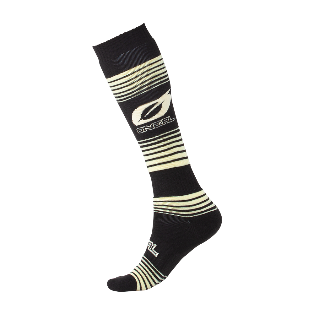 Calze O`Neal PRO MX SOCK Stripes UNICA BLACK/YELLOW