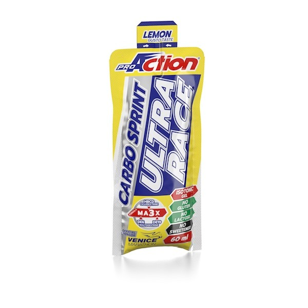 ProAction CARBO SPRINT ULTRA RACE Limone - Stickpack 60 ml.