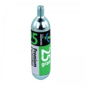 Genuine Innovations Cartuccia CO2 25gr. Con filetto