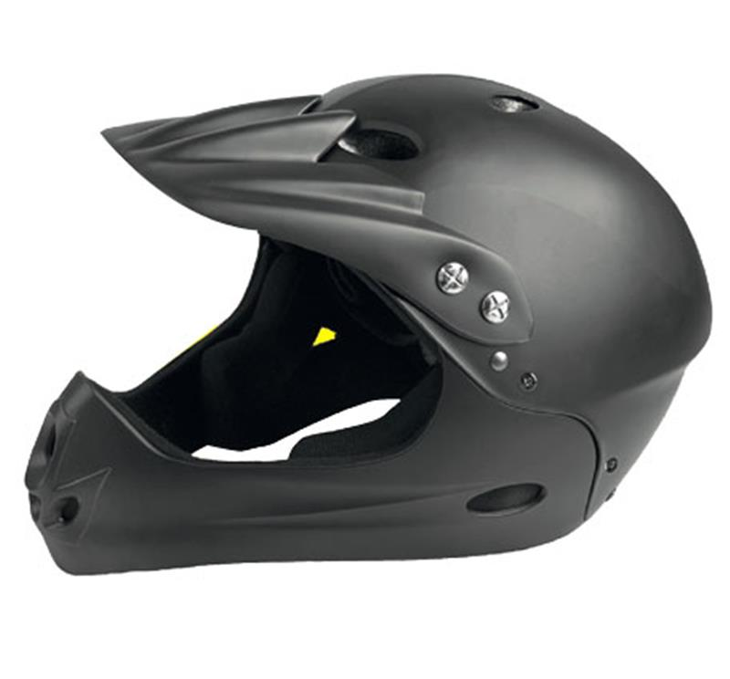 Casco Gist Downhill All in 1 NERO