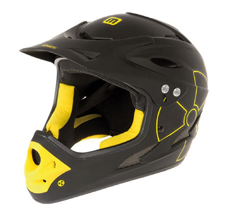 Casco Gist Fall Out NERO