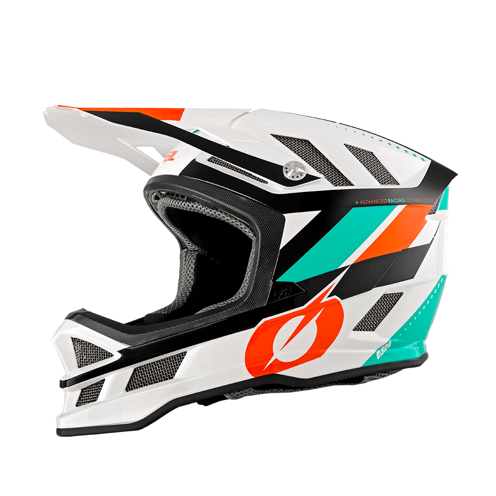 Casco MTB O'Neal BLADE Synapse WHITE/ORANGE