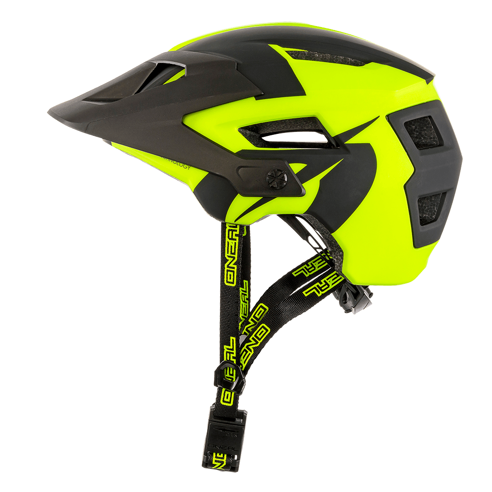 Casco MTB O'Neal DEFENDER 2.0 Sliver NEON YELLOW