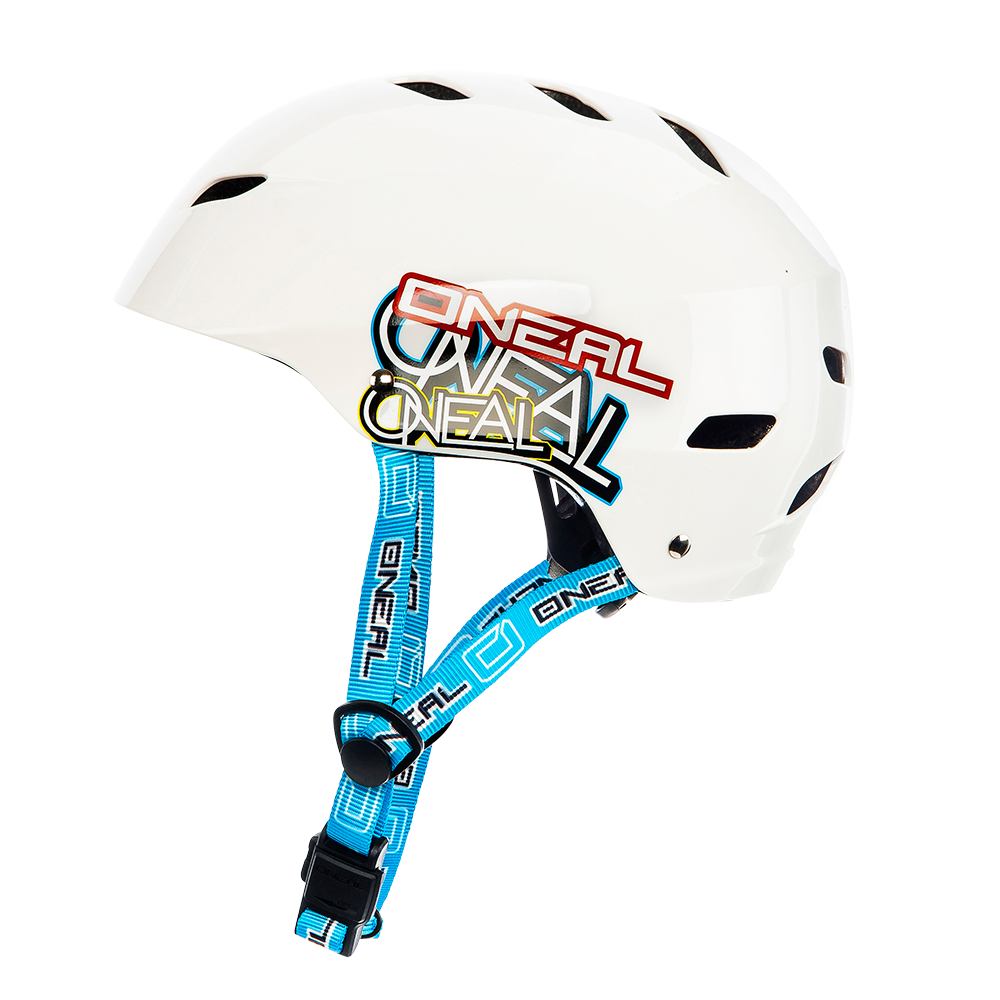 Casco MTB O'Neal DIRT LID YOUTH Junkie WHITE