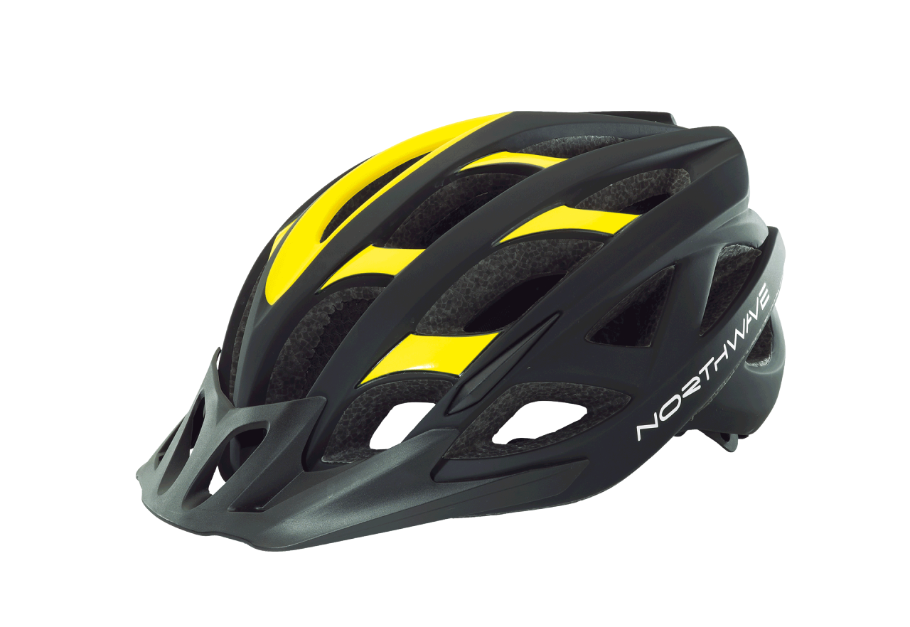 Casco Northwave Ranger BLACK-YELLOW