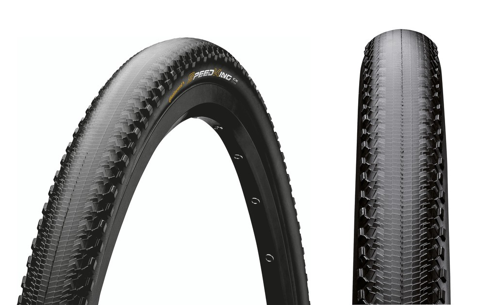 "Copert. Conti Speed King CX RSport pieg. - 28"" 700x32C 32-622 Skin nero/nero"