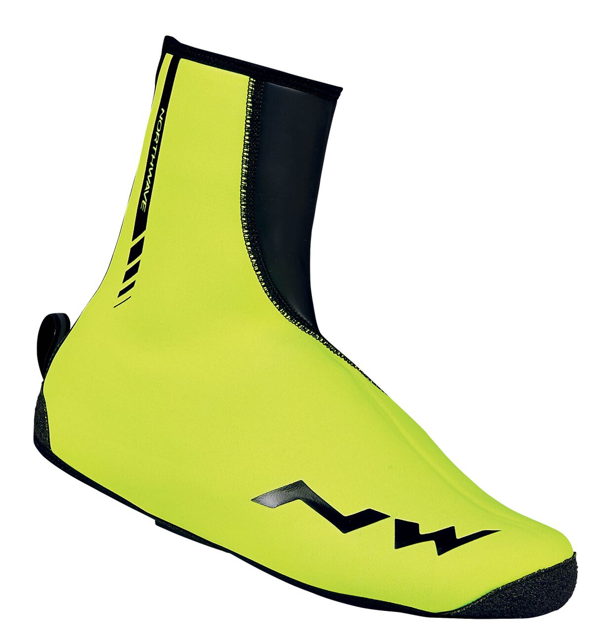 Copriscarpe Ciclismo Northwave Sonic 2 Shoe Cover  YELLOW FLUO-BLACK