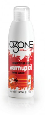 Elite ozon Pre-Cpmpetition Warm-Up - spray olio, caloroso, 100 ml