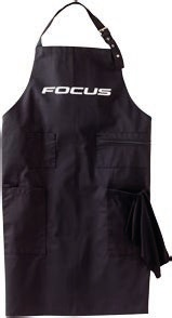 Factory Apron black/white -
