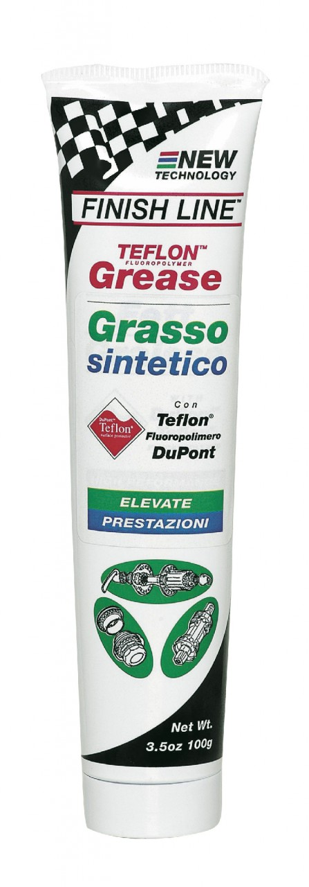 Finish Line Teflon Fortified Grasso di Alta Qualit in Tubetto 100 g.