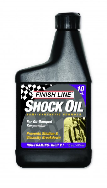 Fluido per Forcelle Ammortizzate Finish Line Shock Oil 10 WT 475 ml.