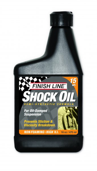 Fluido per Forcelle Ammortizzate Finish Line Shock Oil 15 WT 475 ml.