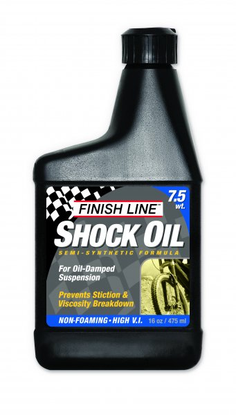 Fluido per Forcelle Ammortizzate Finish Line Shock Oil 7,5 WT 475 ml.