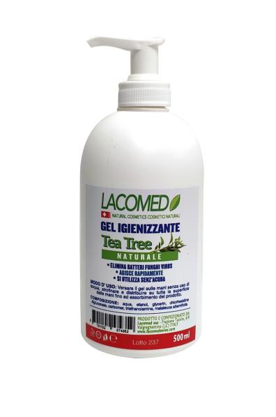 Gel Igienizzante naturale Lacomed Tea Tree 500ml.