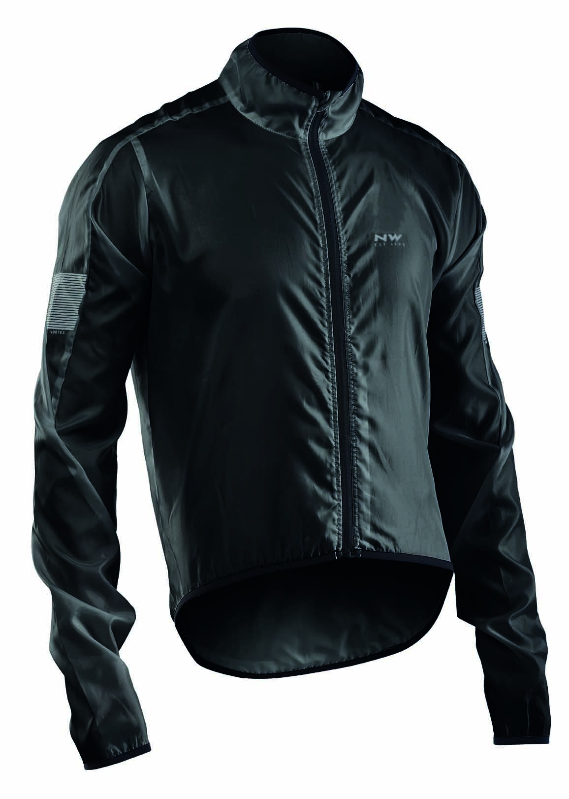 Giacca Antivento e Idrorepellente Ciclismo Northwave Vortex Jacket  BLACK
