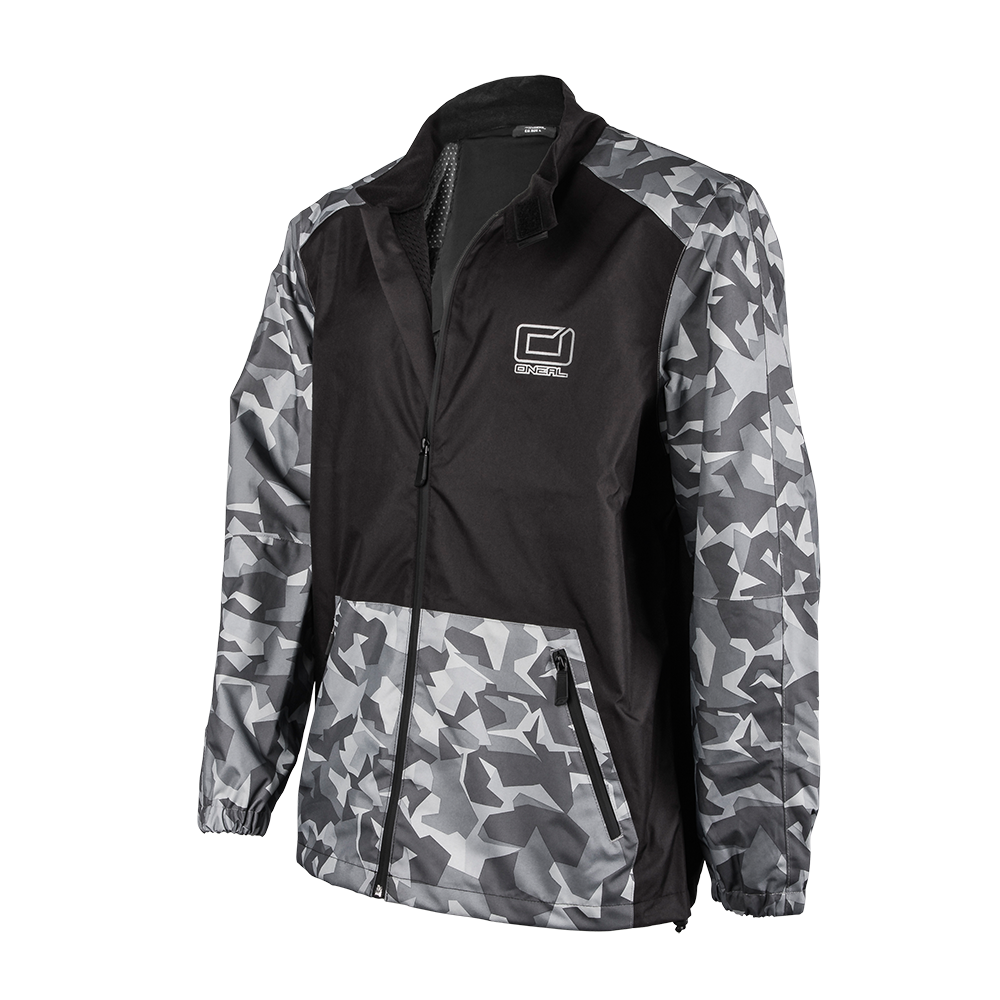 Giacca antipioggia O`Neal SHORE II Rain Jacket BLACK/GRAY