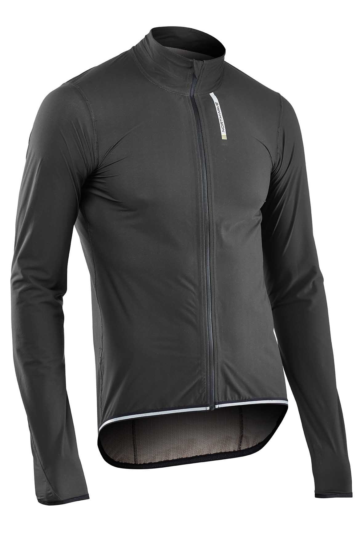 Giacca Antivento e Antipioggia Ciclismo Northwave RainSkin Shield Jacket ANTHRACITE