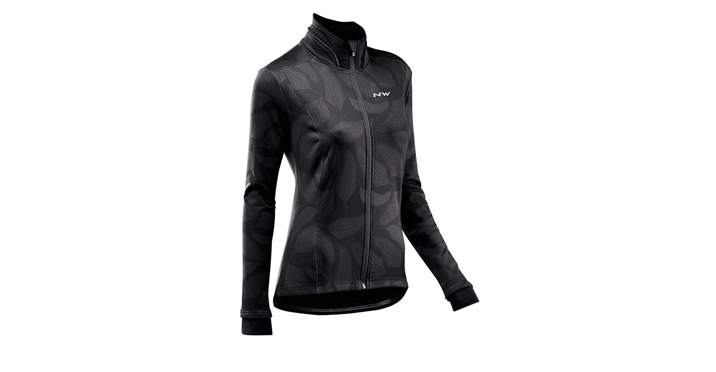 Giacca Ciclismo Donna Maniche Lunghe Northwave Allure Jacket BLACK