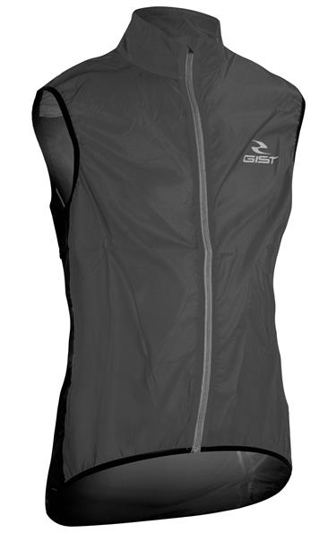 Gilet Antivento Gist NERO