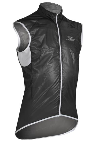 Gilet Antivento Gist in Membrana NERO