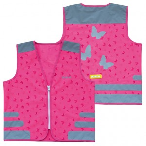 Gilet di sicurezza Wowow Nutty Jacket ROSA