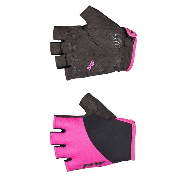Guanti Donna Northwave Fast Woman Short Fingers Glove FUCHSIA-BLACK