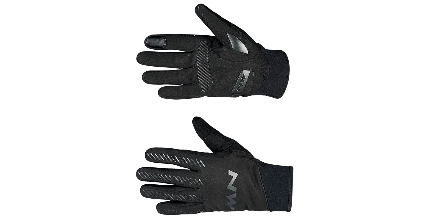 Guanti Ciclismo Northwave Core Full Gloves Mid Season BLACK