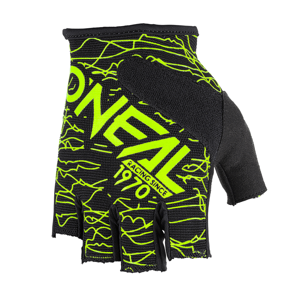 Guanti O'Neal WIRED Fingerless BLACK/HI-VIZ