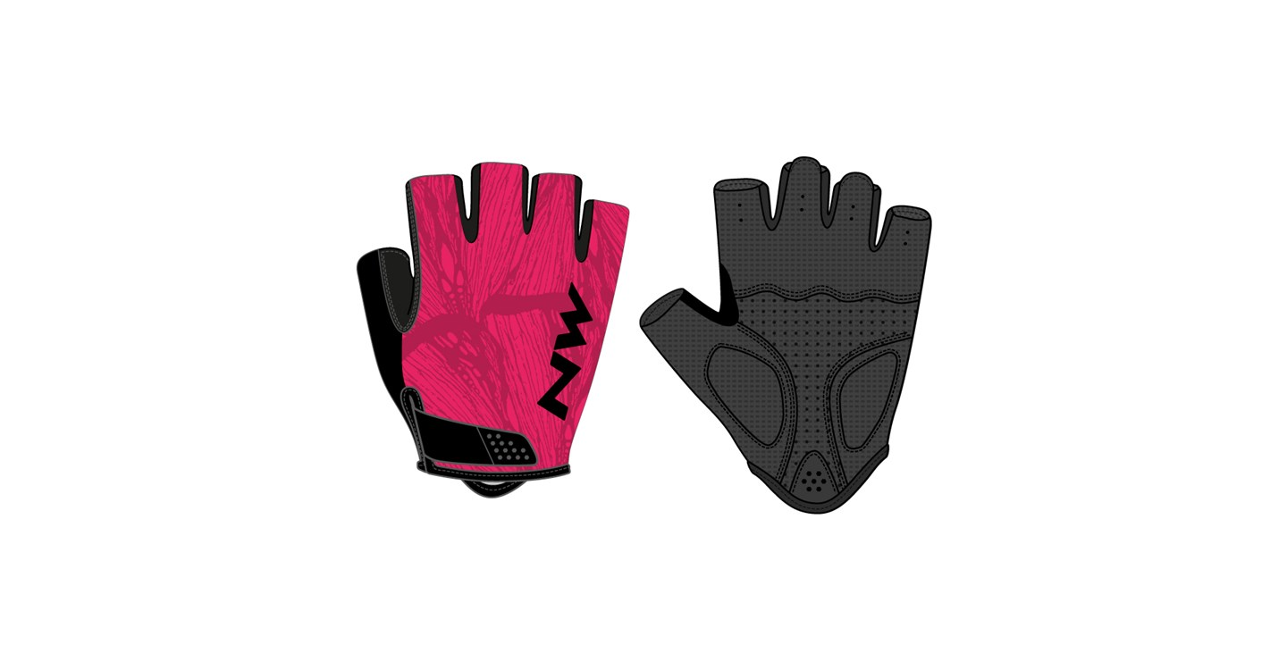Guanti Donna Ciclismo Northwave Flag 3 Wmn PARADISE PINK