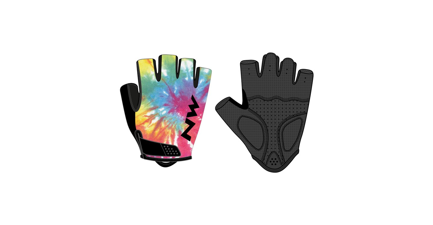 Guanti Donna Ciclismo Northwave Flag 3 Wmn RAINBOW