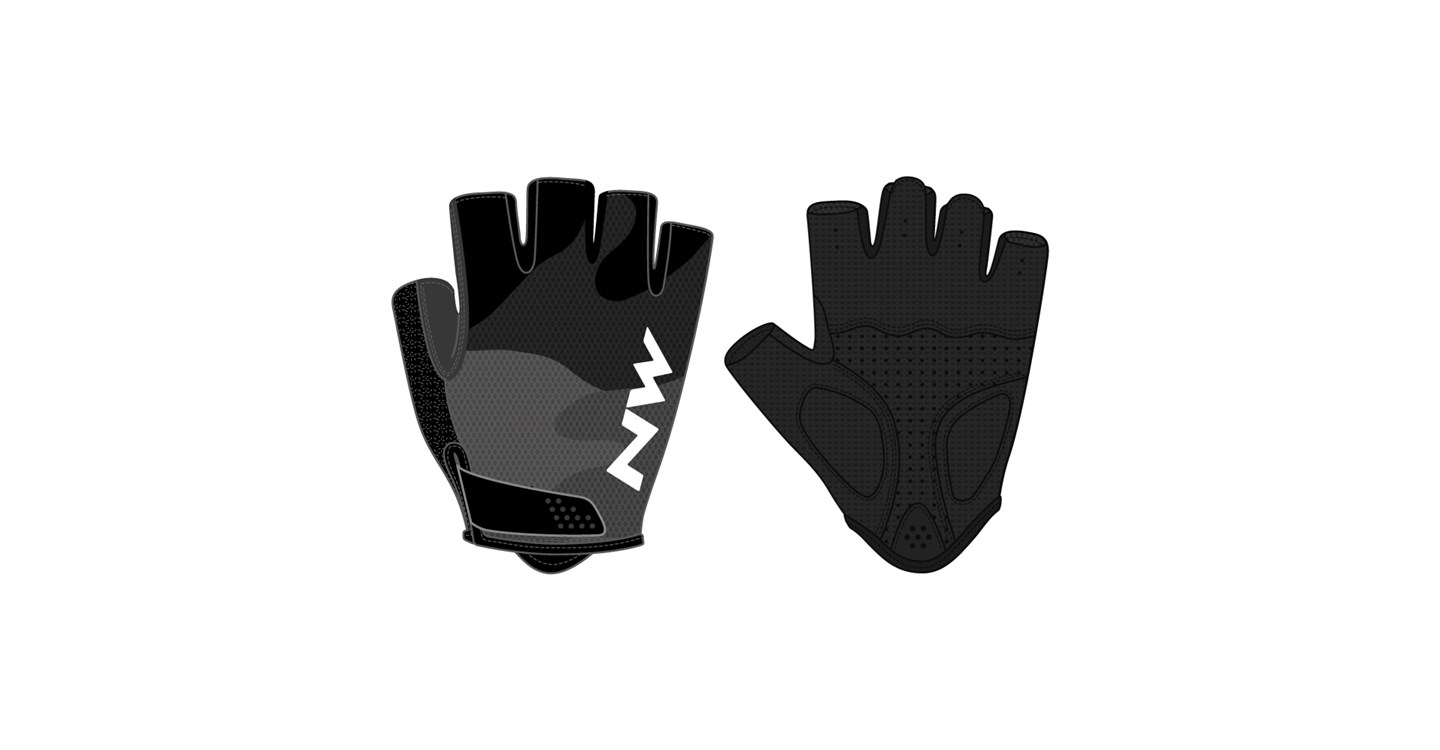 Guanti Ciclismo Northwave Flag 3 BLACK