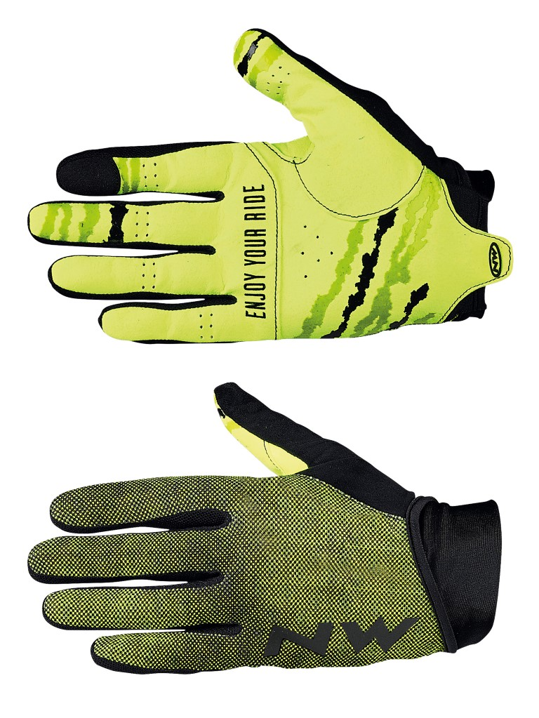 Guanti Ciclismo Northwave MTB Air 3 Full Gloves BLACK-YELLOW FLUO