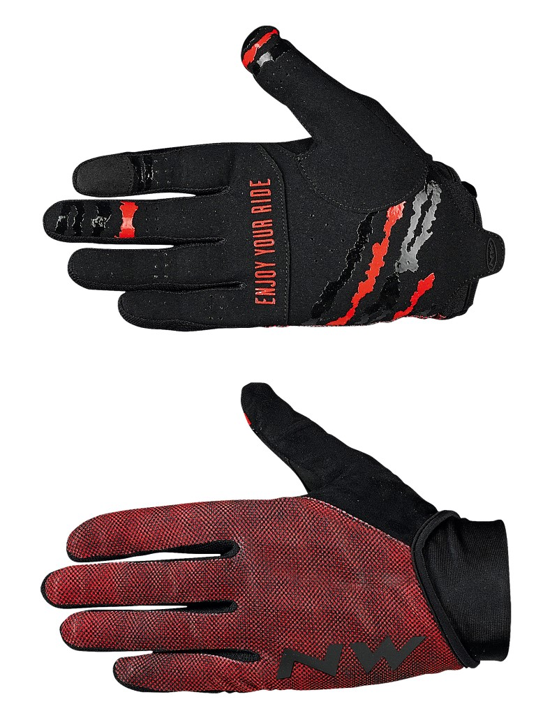 Guanti Ciclismo Northwave MTB Air 3 Full Gloves LOBSTER ORANGE-BLACK