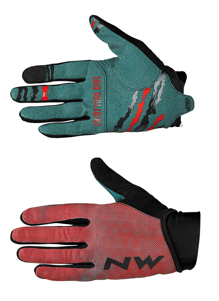 Guanti Ciclismo Northwave MTB Air 3 Full Gloves RED-FOREST
