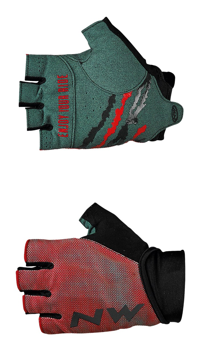 Guanti Ciclismo Northwave MTB Air 3 Short Gloves RED-FOREST