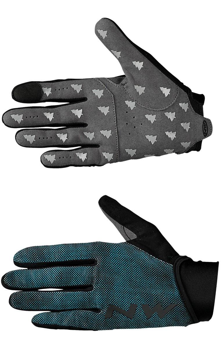 Guanti Donna Ciclismo Northwave MTB Air 3 Woman Full Gloves CERAMIC-BLACK