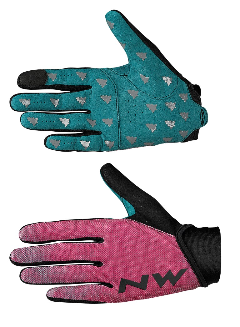 Guanti Donna Ciclismo Northwave MTB Air 3 Woman Full Gloves GREEN-AZALEA