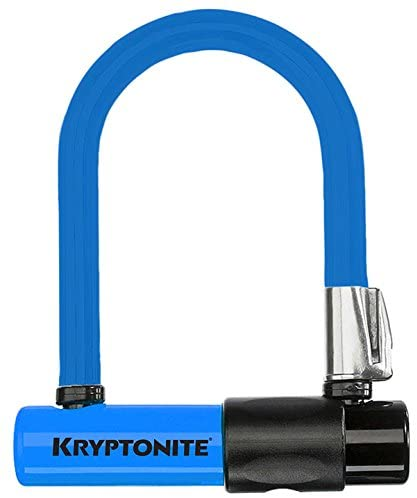 Kit Kryptonite U-Lock Mini Colour Skin Azzurro