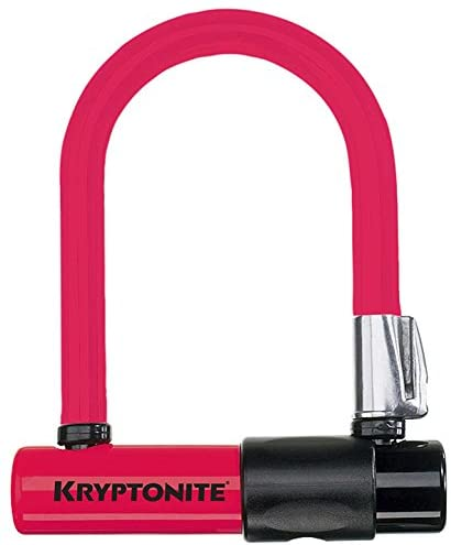 Kit Kryptonite U-Lock Mini Colour Skin Rosso