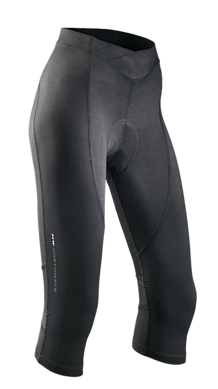 Pantaloni Lunghi Donna Ciclismo Northwave Crystal 2 Knickers BLACK