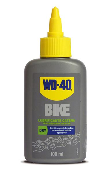Lubrificante catena Dry WD-40 Bike 100 ml.