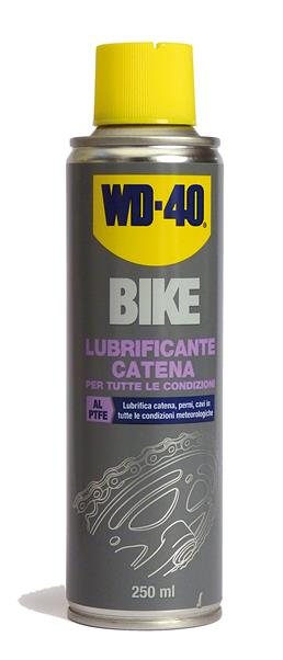 Lubrificante catena WD-40 Bike 250 ml.